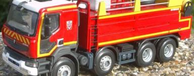Miniature dei vigili del fuoco