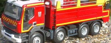 Modellini di pompieri