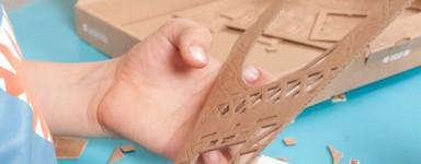 Kit modello in cartone